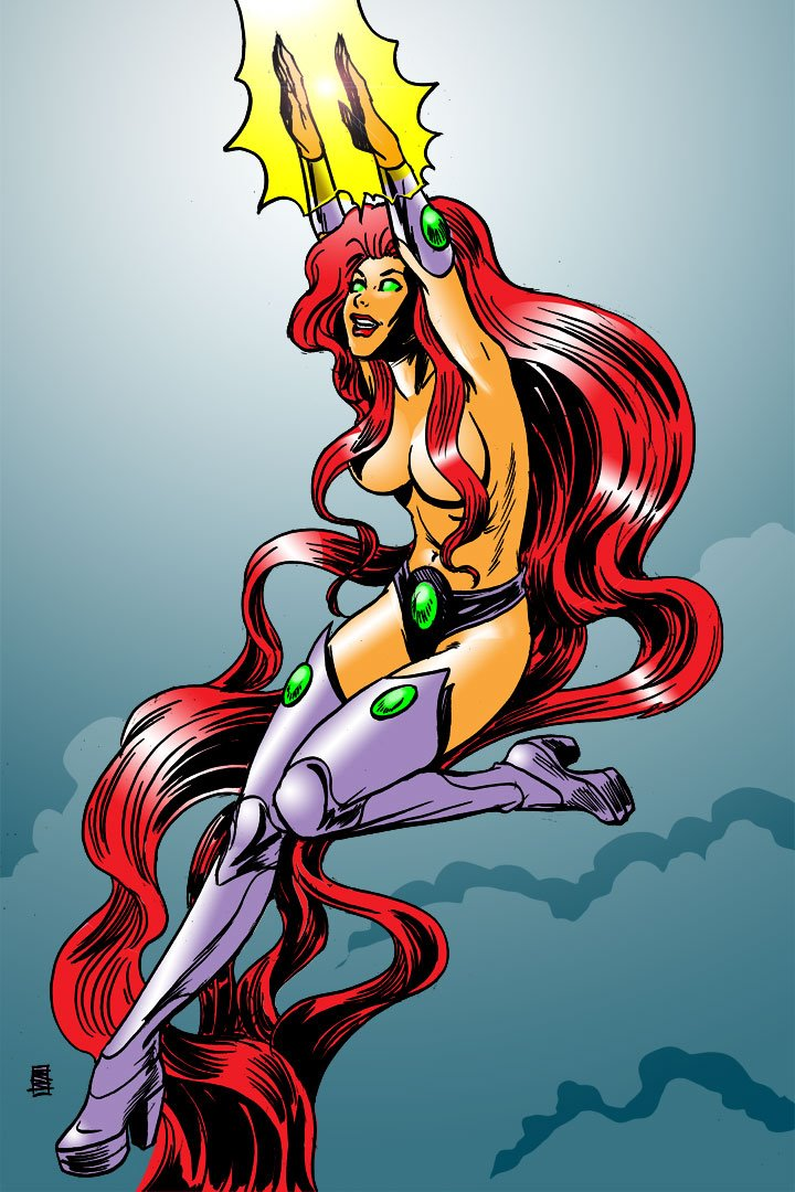Starfire by Will Meugniot