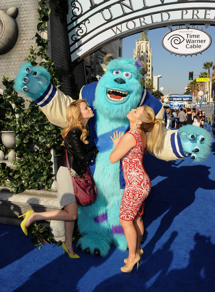 Taylor Spreitler Monsters University Premiere