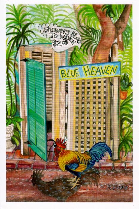 Key West Blue Heaven