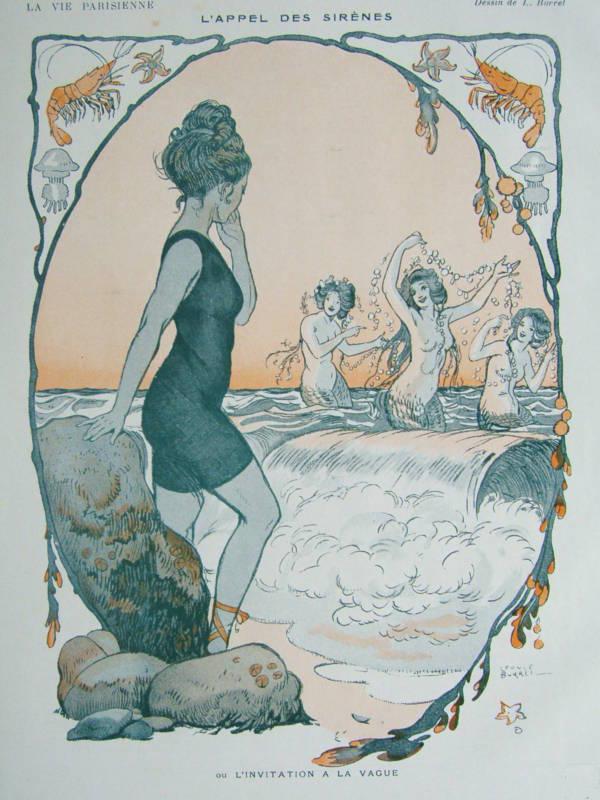 L'appel des Sirenes by Burrel