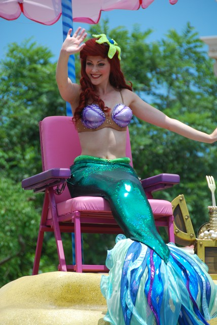 Ariel at Hong Kong Disneyland