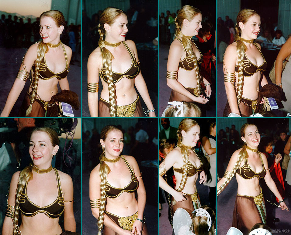 Melissa Joan Hart as Princess Leia