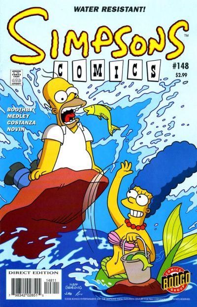 Simpsons Comics #148