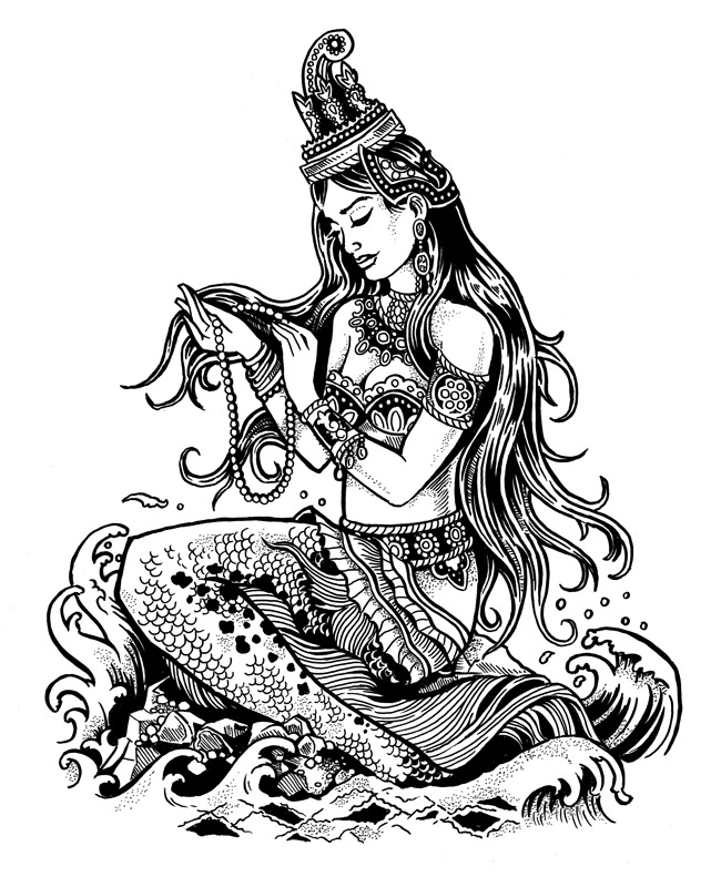 Cambodian Mermaid by Derrick Castle
