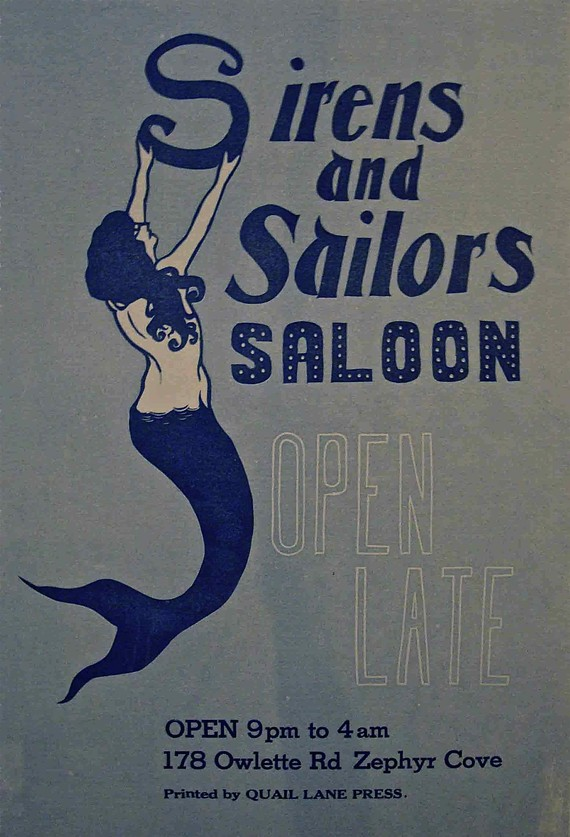 Sirens and Sailors Saloon by Quail Lane Press