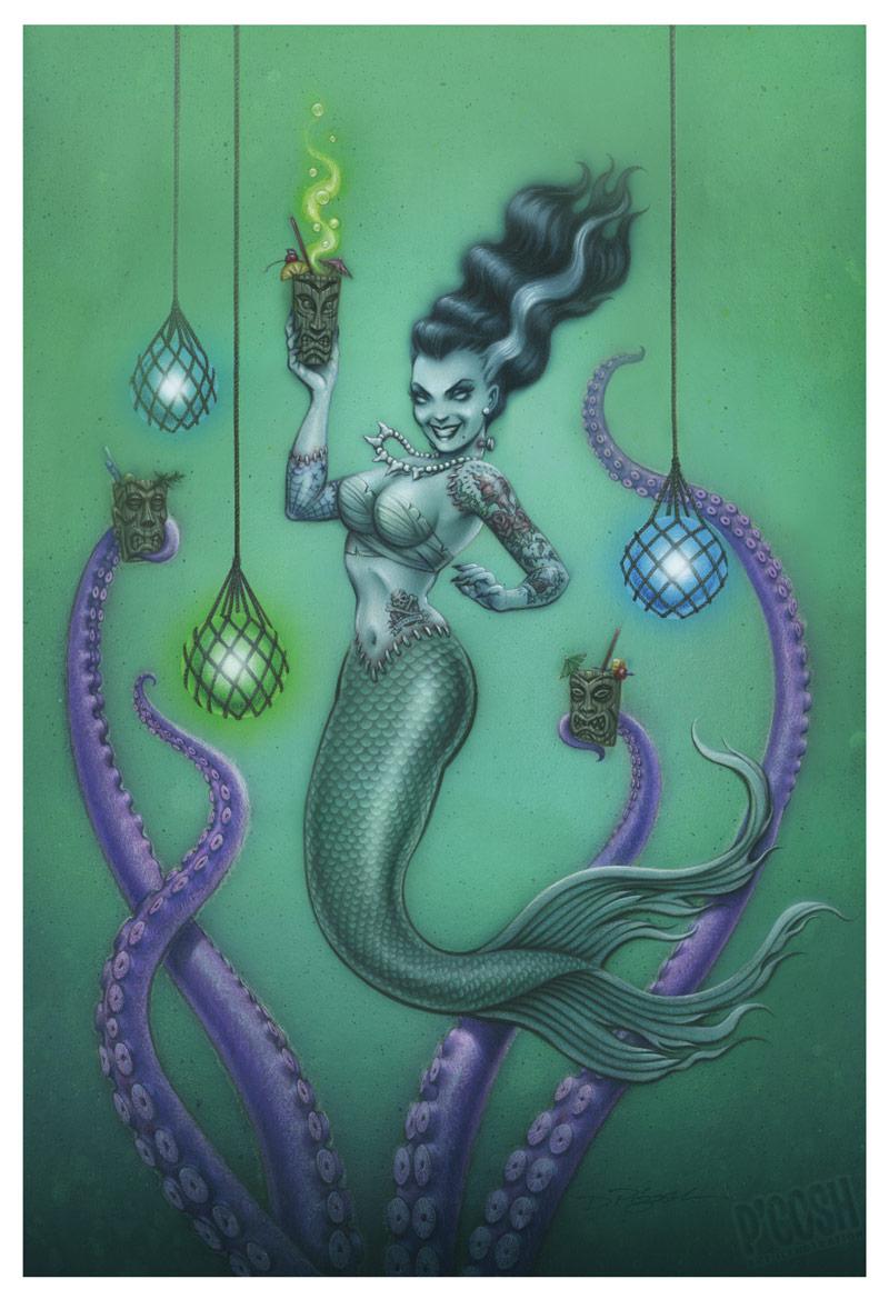 Frankenstein's Mermaid by Doug P'Gosh