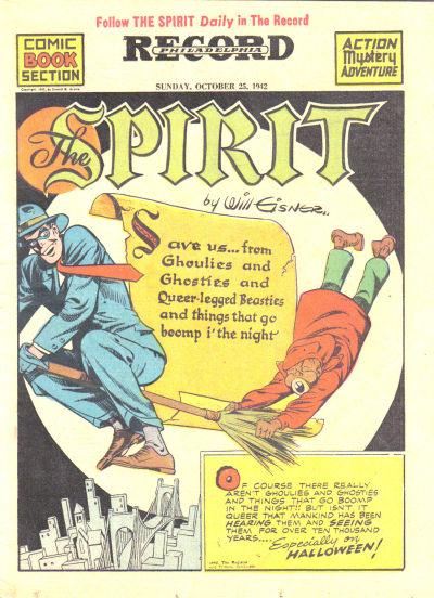 The Spirit 10/25/1942