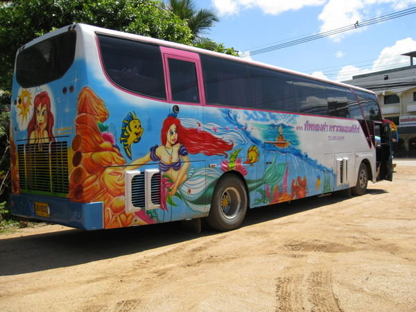 Little Mermaid Bus
