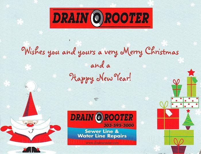 Drain O Rooter Xmas