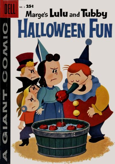 Marge's Little Lulu and Tubby Halloween Fun #2