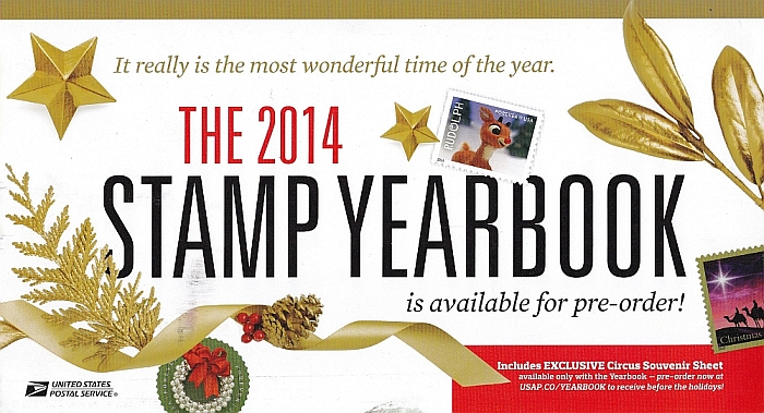 2014 Stamp Yearbook