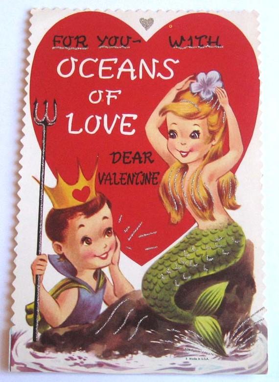 Mernaid valentine