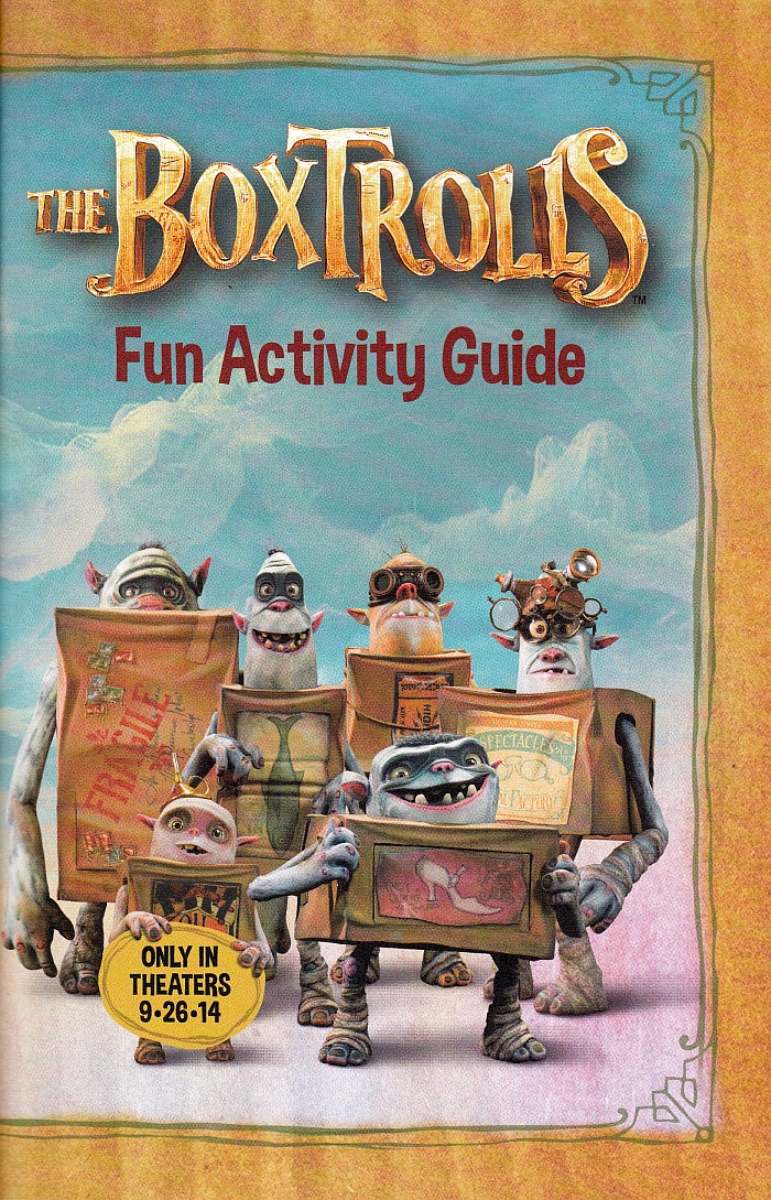 The Boxtrolls Fun Activity Guide