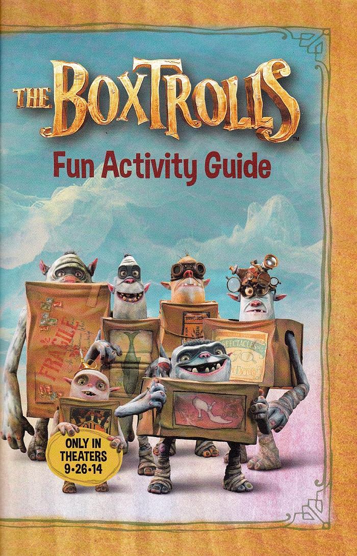 The Boxtrolls Fun Activity Guide