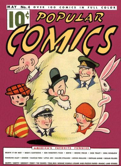 Popular Comics #4