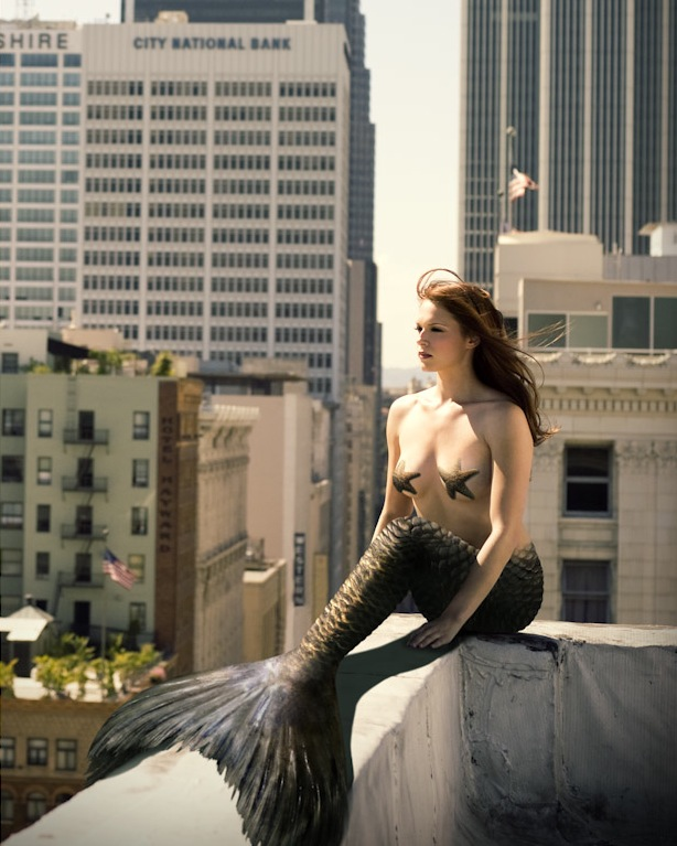 Amanda Righetti - Mermaids Of Hollywood by Mark Anderson