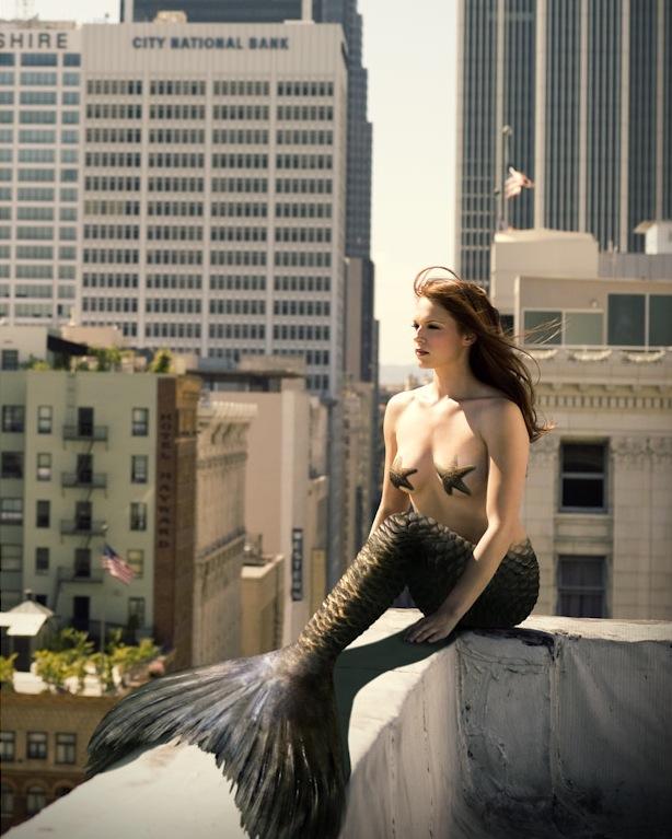 Amanda Righetti - Mermaids Of Hollywood by Mark Anderson