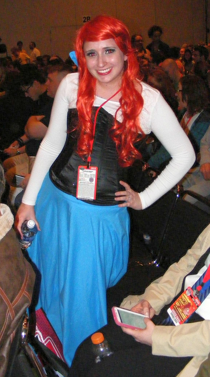 Ariel cosplay #2 from Denver Comic Con 2015, day 1