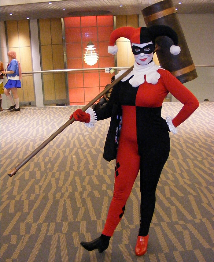 Harley Quinn at Denver Comic Con 2015