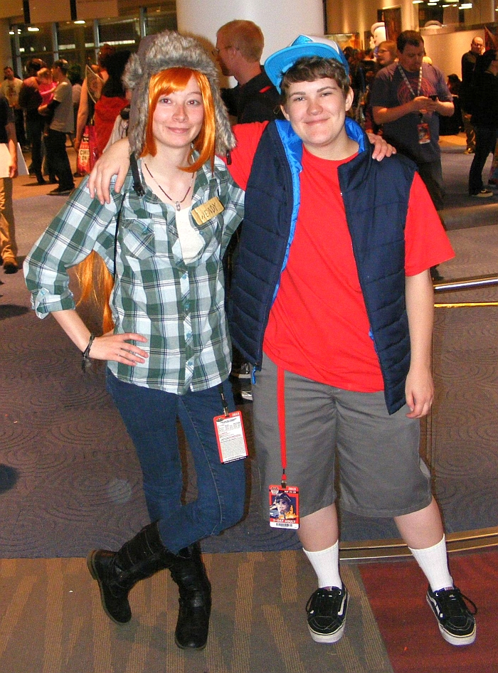 Wendy & Dipper at Denver Comic Con 2015