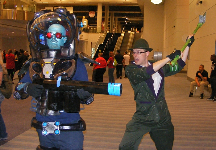 Mr. Freeze (and Riddler) at Denver Comic Con 2015