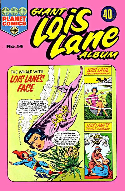 Giant Lois Lane Album #14