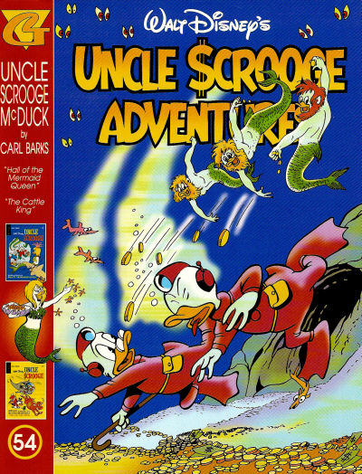 Walt Disney's Uncle Scrooge Adventures in Color #54