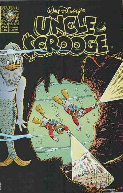 Walt Disney's Uncle Scrooge #274
