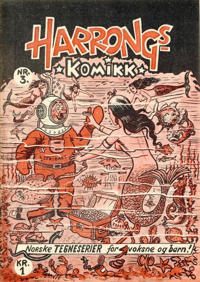 Harrongs komikk #3/1952