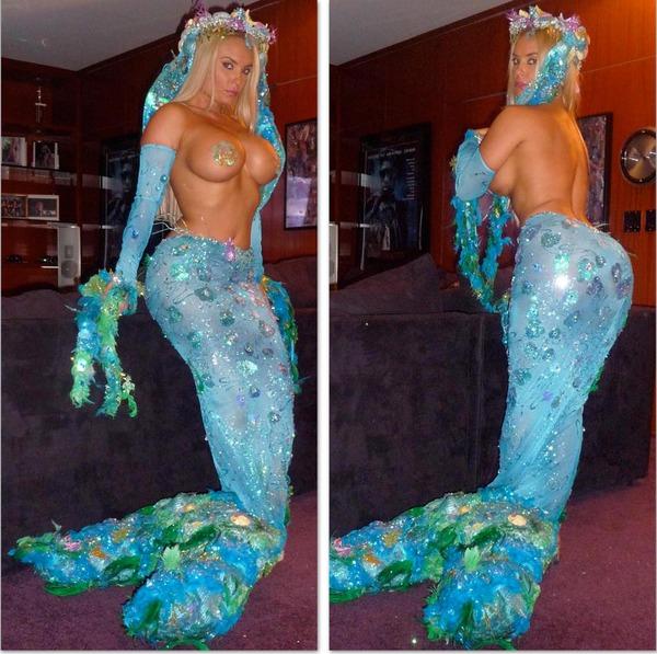 Coco as a mermaid
