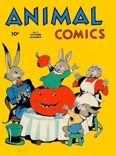 Animal Comics #5