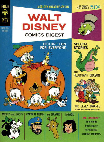 Walt Disney Comics Digest #4