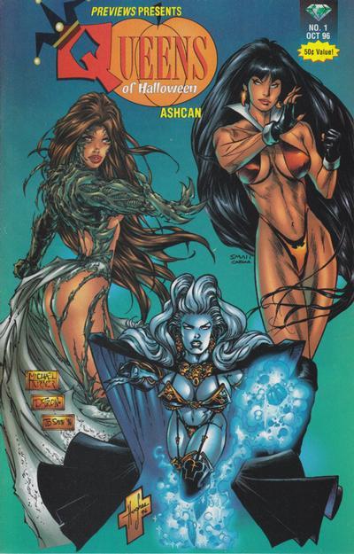 Previews Presents Queens of Halloween Ashcan #1