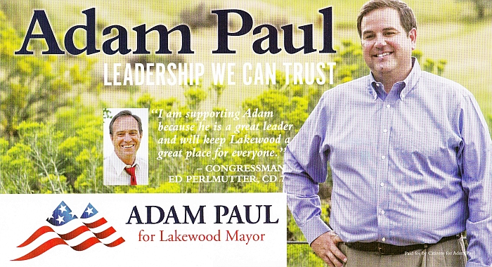 Adam Paul for Lakewood