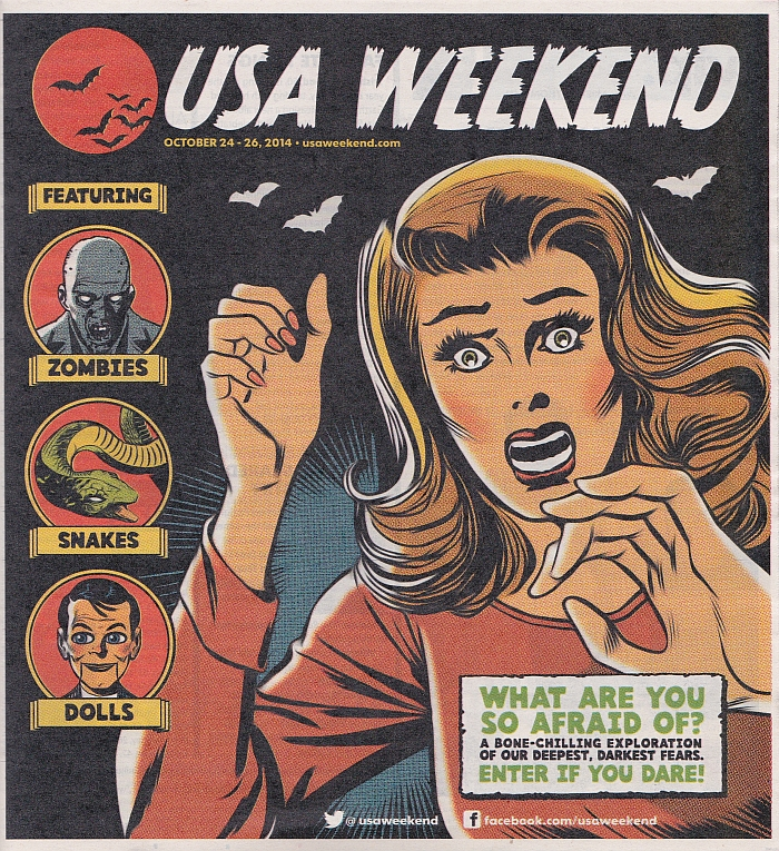 USA Weekend Oct 24-26 2014