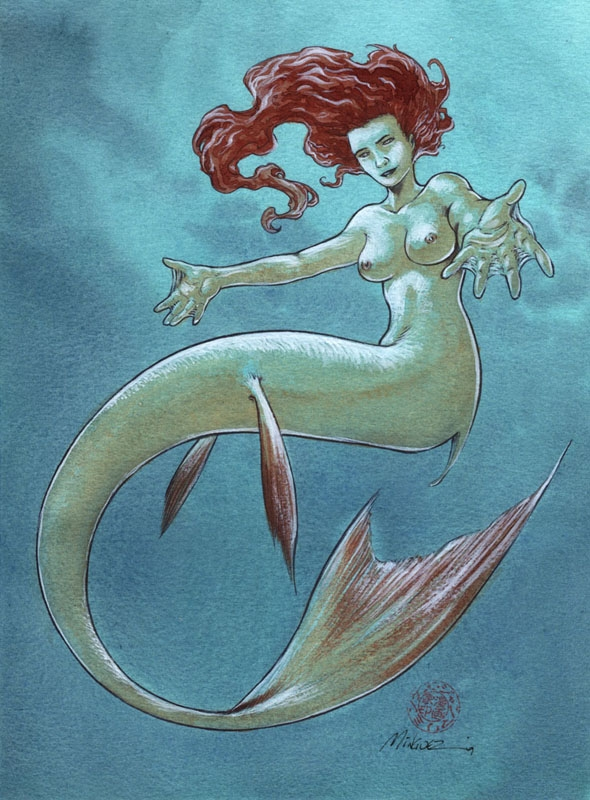 Mermaid by Jean-Marie Minguez