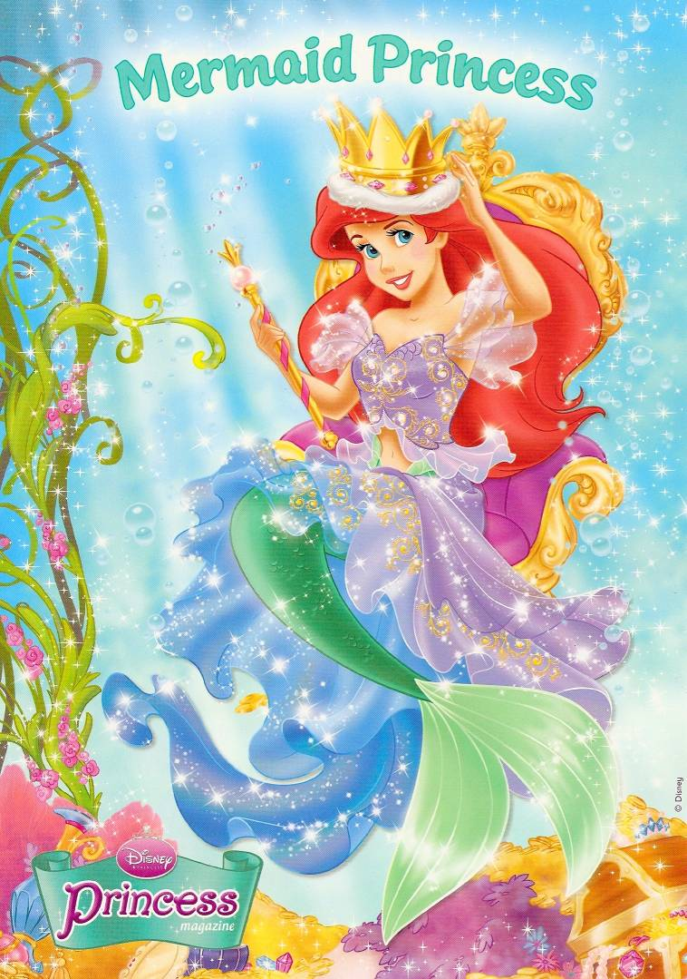 Ariel poster from Redan Disney Princess Magazine #48