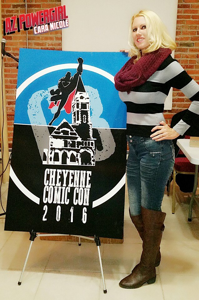 Cheyenne Comic Con Cara Nicole