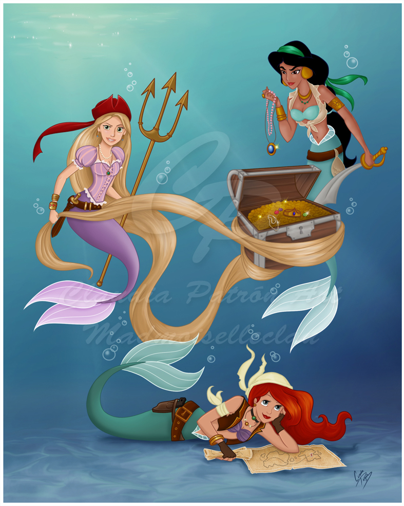 Disney Pirate Mermaids