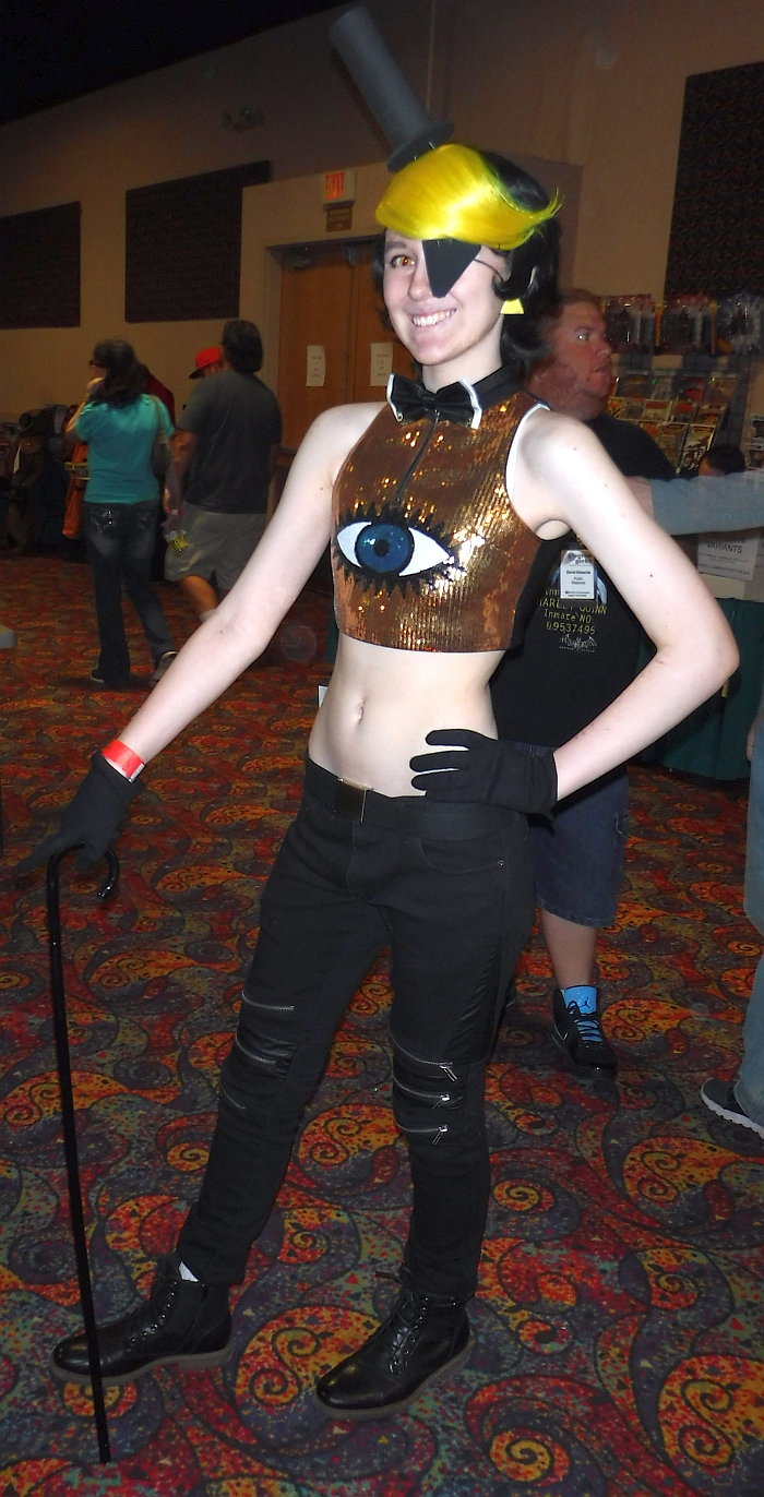 Bill Cipher at Rocky Mountain Con 2015