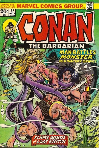 Conan the Barbarian #32