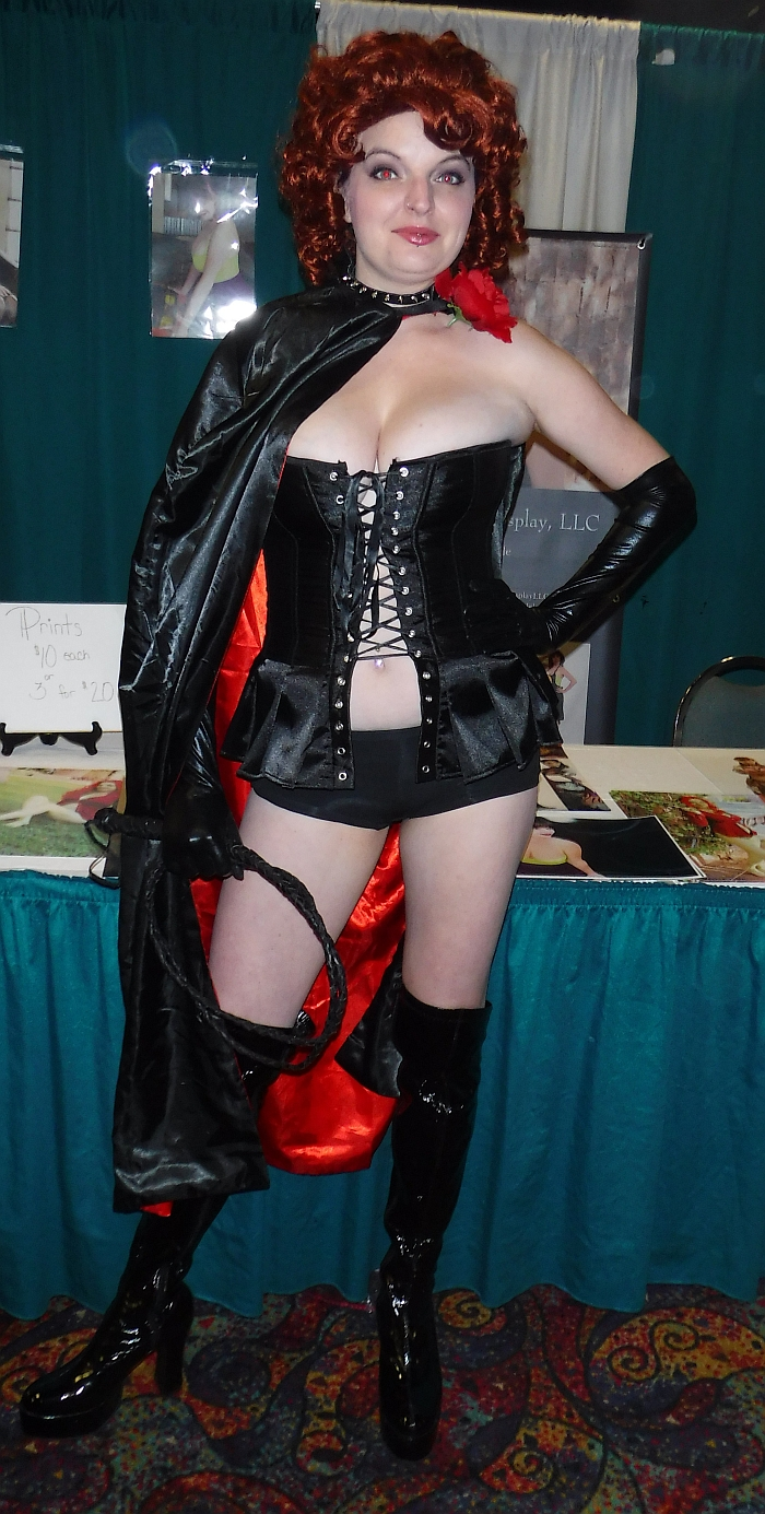 Black Queen (Colleen Cole) at Rocky Mountain Con 2015