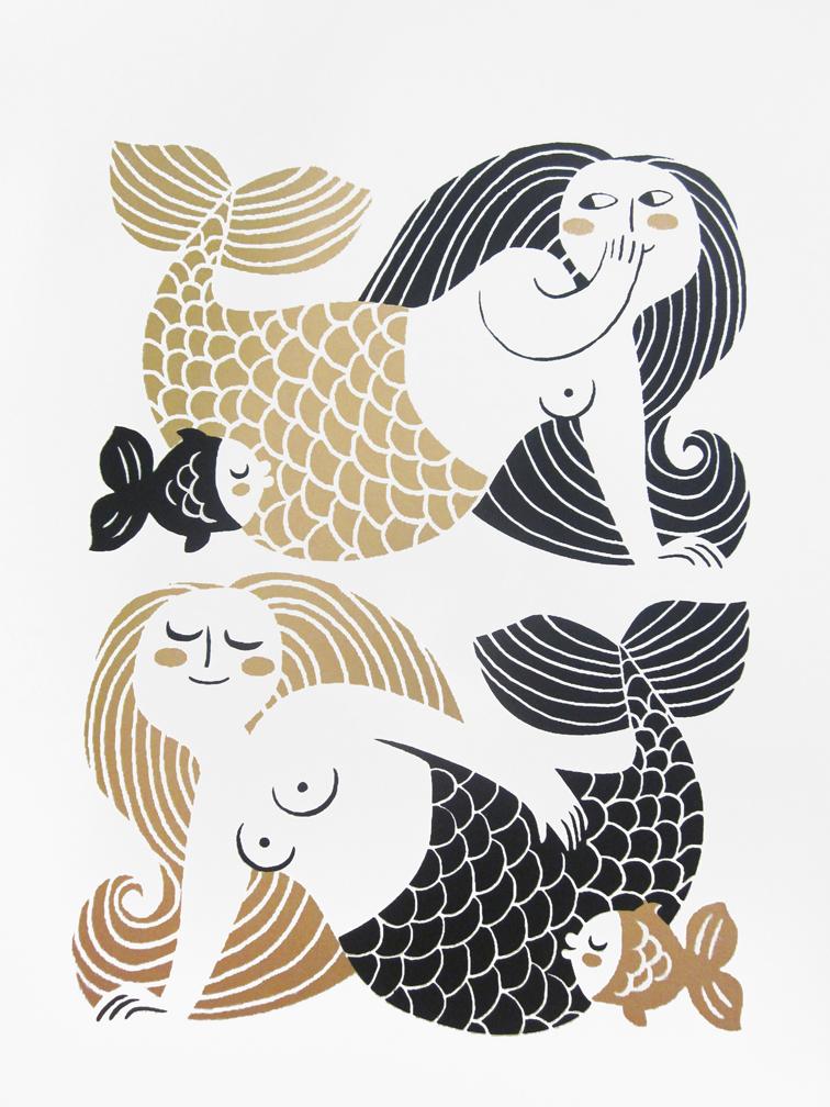 More Mermaids by Galia Bernstein