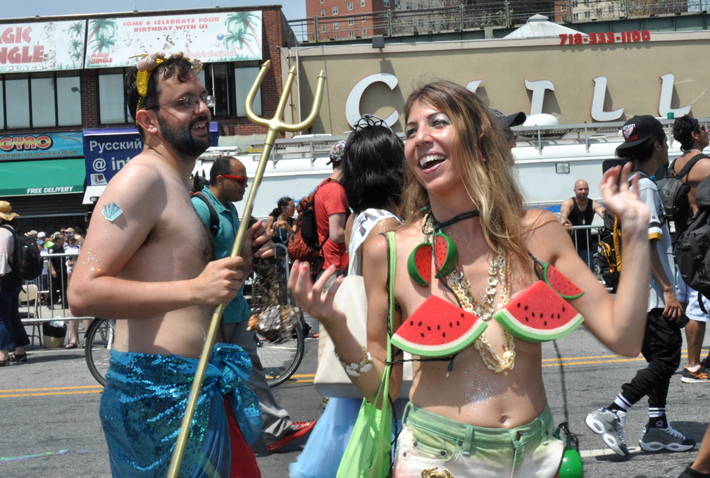 2013 Cony Island Mermaid Parade watermelon