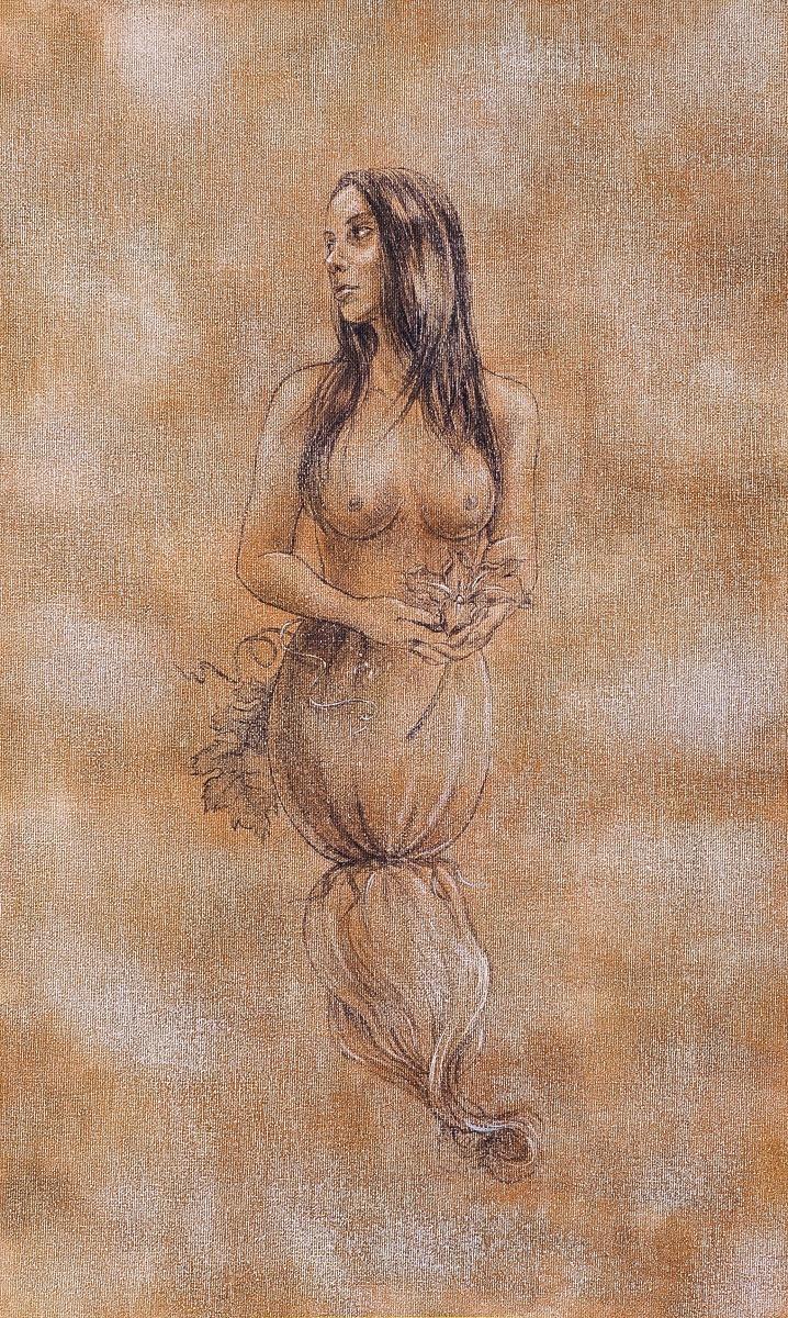Zucchini-Mermaid by Minako Ota