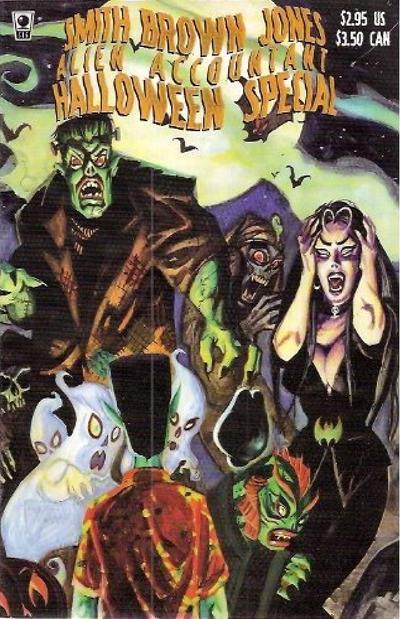 Smith Brown Jones Alien Accountant Halloween Special