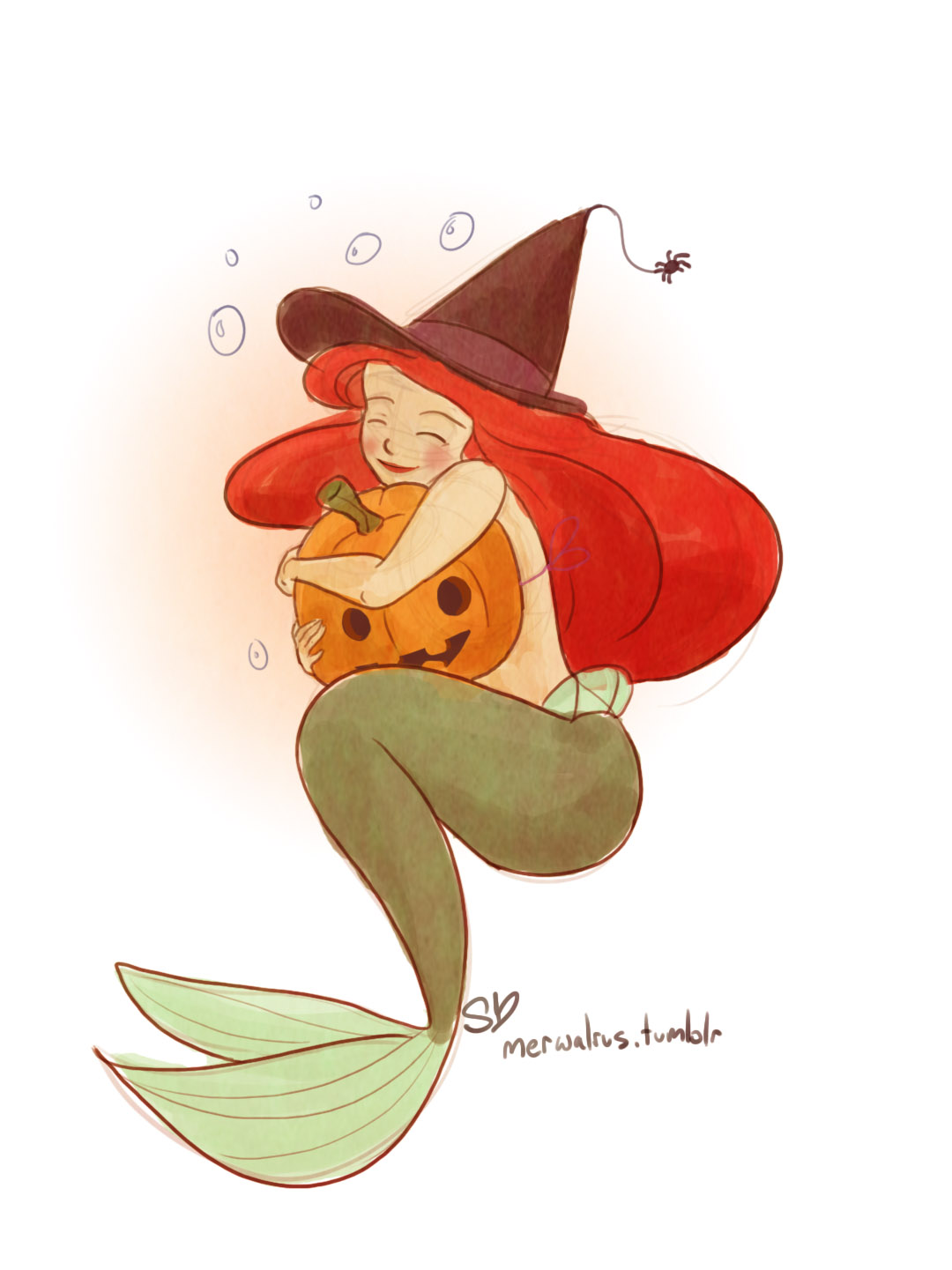 Happy October! by Samantha E Marie