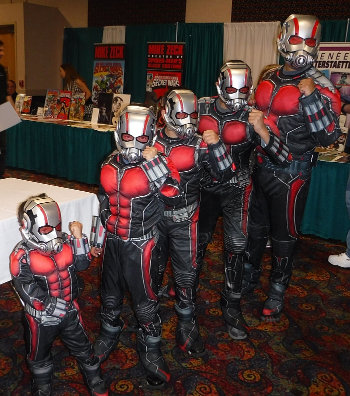 Shrinking Ant-Man