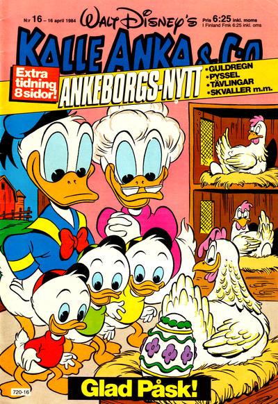 Kalle Anka & C:o #16/1984