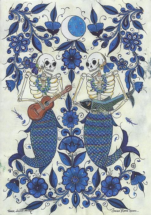 Mermaid Skeletons
